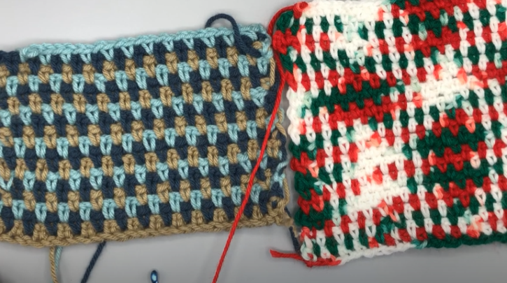 How to Moss Stitch Crochet for Beginners Easy Tutorial for Linen Stitch and Granite Stitch